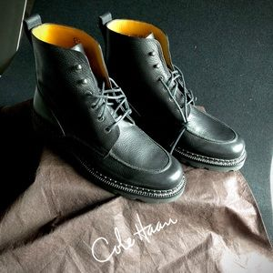 Cole Haan men's casual boots BLK size 10.5